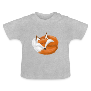 T-shirt bébé Sleeping Fox - T-shirt Bébé