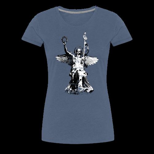 Gooldelse mit Kopfhörer (Vintage) S-3XL T-Shirt - Frauen Premium T-Shirt