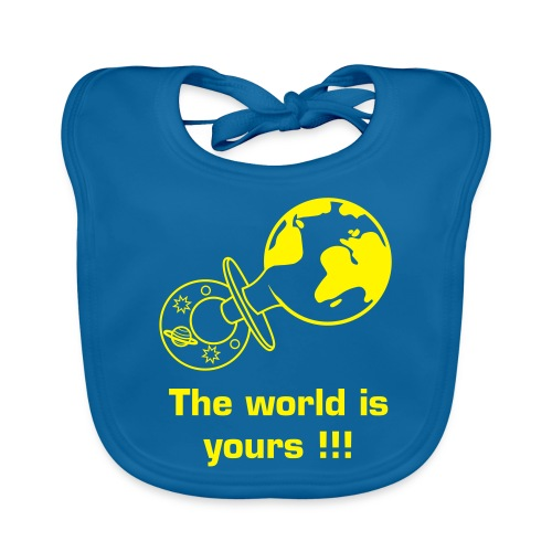 Babyboy, the world is yours!!! - Bio-slabbetje voor baby's