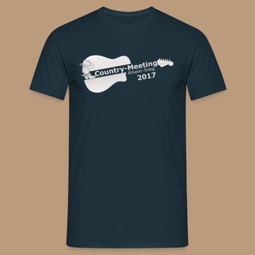 Herren T-Sirt Meeting 2017 blau - Männer T-Shirt
