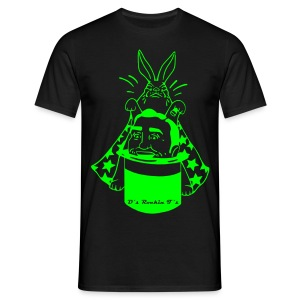 MENS Bunny Magician t-shirt Special edition green - Men's T-Shirt