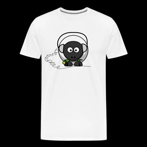Music Sheep - Mannen Premium T-shirt