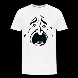 Crying Man - Mannen Premium T-shirt