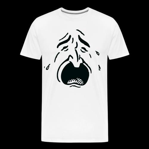 Crying Man - Mannen Premium T-shirt