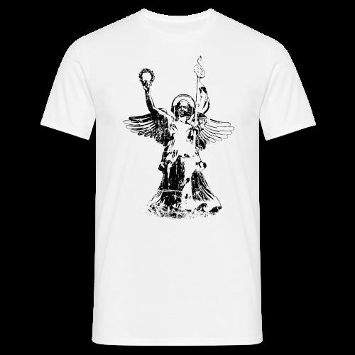 Goldelse mit Kopfhörer (Vintage) T-Shirt - Männer T-Shirt