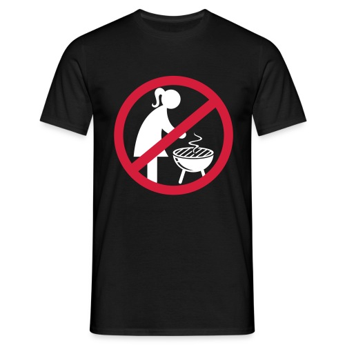 Grillchef - Männer T-Shirt