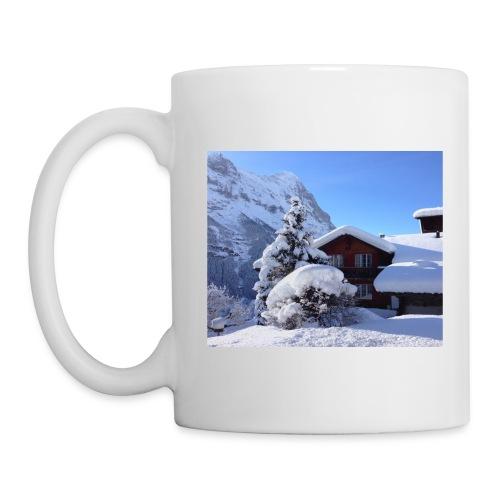 Tasse - Winter und Schnee mit Motiv 2 - Tasse
