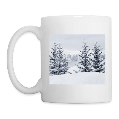 Tasse - Winter und Schnee mit Motiv 1 - Tasse