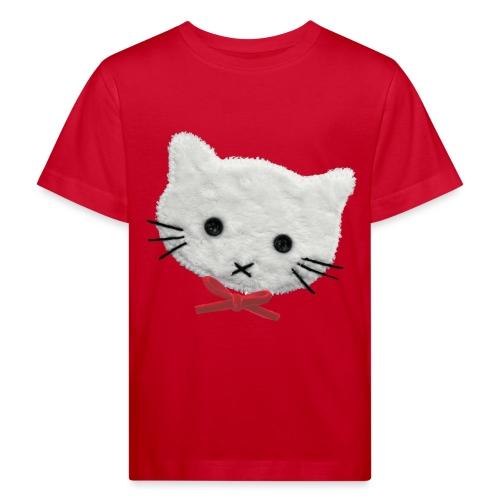 Kinder-Shirt mit Katze - Kinder Bio-T-Shirt