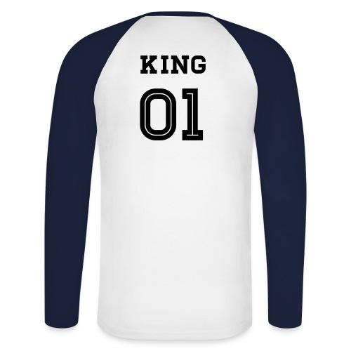 King - Männer Baseballshirt langarm