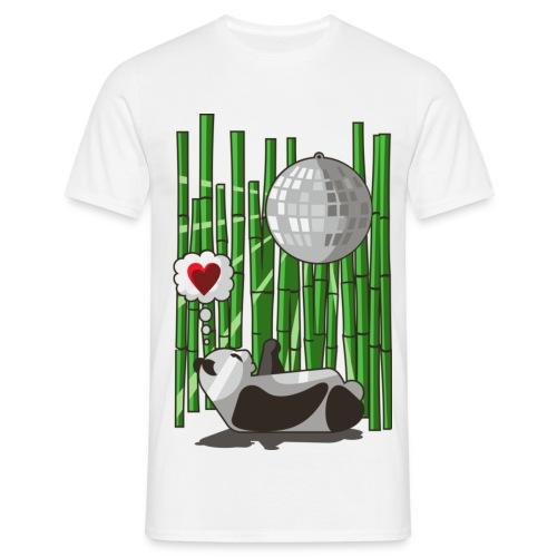 Bambus Panda - T-skjorte for menn