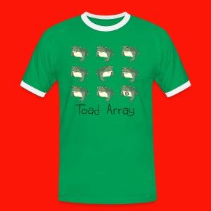 Toad Array Mens Ring Tee - Men's Ringer Shirt