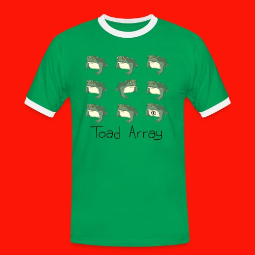 Toad Array Mens Ring Tee - Men's Ringer Shirt