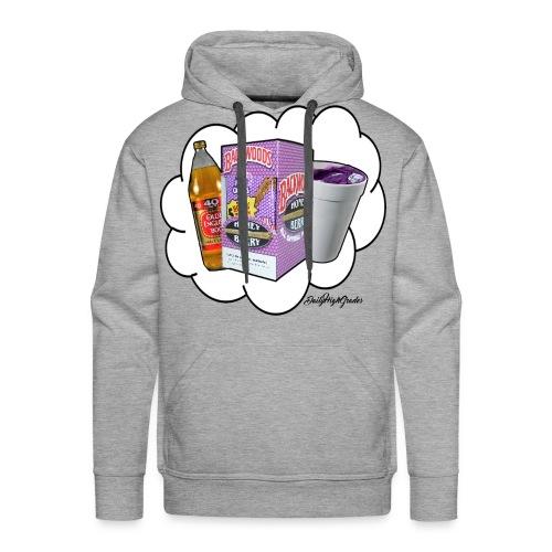Weed, Lean & 40 *LIMITED TIME* - Men's Premium Hoodie