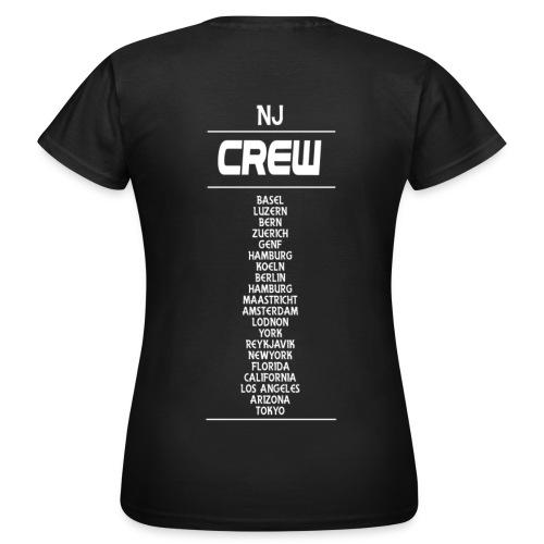 Girlshirt NJ Crew black - Frauen T-Shirt