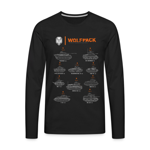 World of Tanks Wolfpack - Men's Premium Longsleeve Shirt