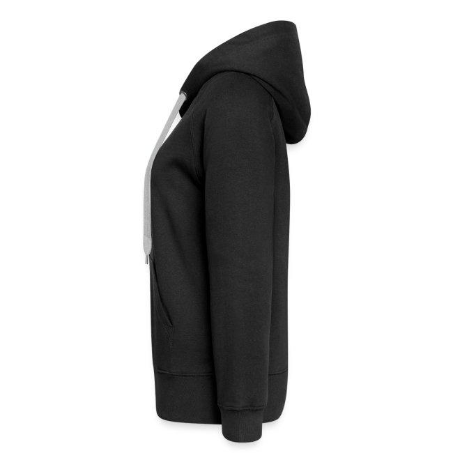 Veste à capuche noire Femme