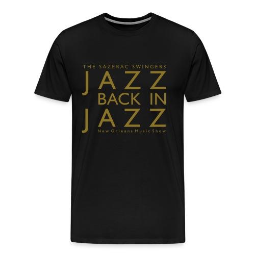 Jazz Back in Jazz - Männer Premium T-Shirt