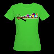 T-Shirts ~ Frauen Bio-T-Shirt ~ Mücke zu Elefant - DIGITAL