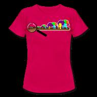 T-Shirts ~ Frauen T-Shirt ~ Mücke zu Elefant - DIGITAL