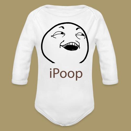 Baby Langarm-Body IPOOP - Baby Bio-Langarm-Body