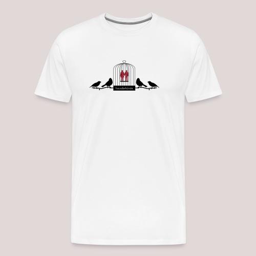 Birds cage - Maglietta Premium da uomo