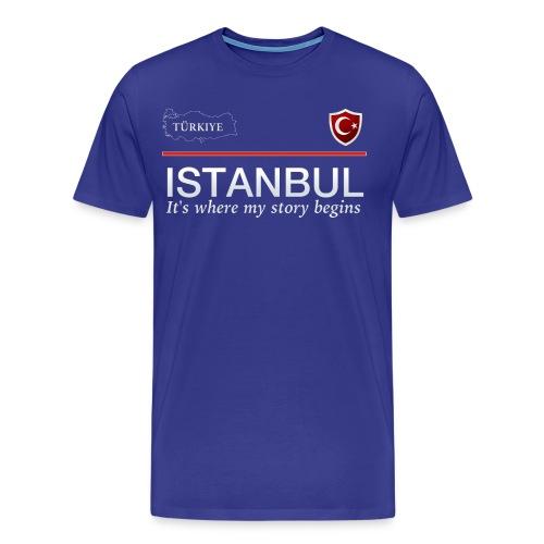 Istanbul - Männer Premium T-Shirt