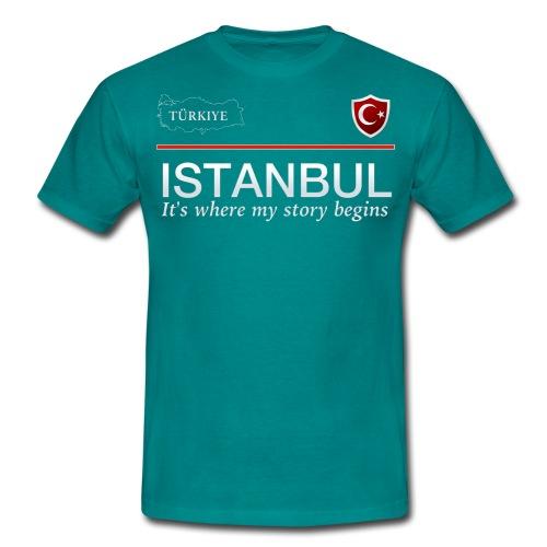 Istanbul - Männer T-Shirt