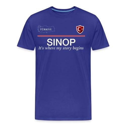 Sinop - Männer Premium T-Shirt