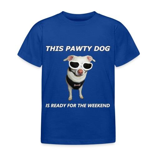 Pawty Dog - Kids T-Shirt - Kids' T-Shirt