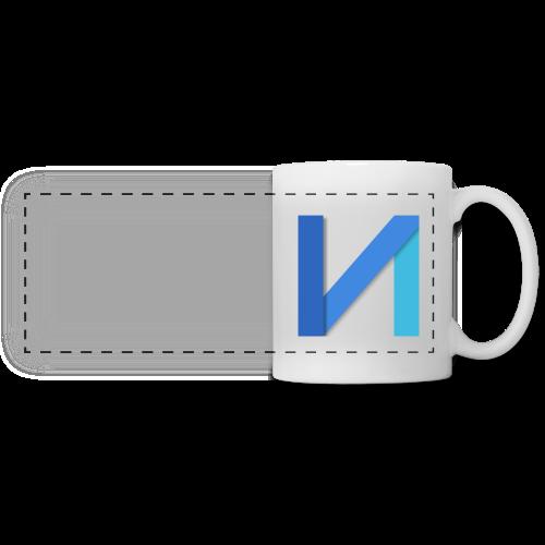Mug Nestor.io - Mug panoramique contrasté et blanc