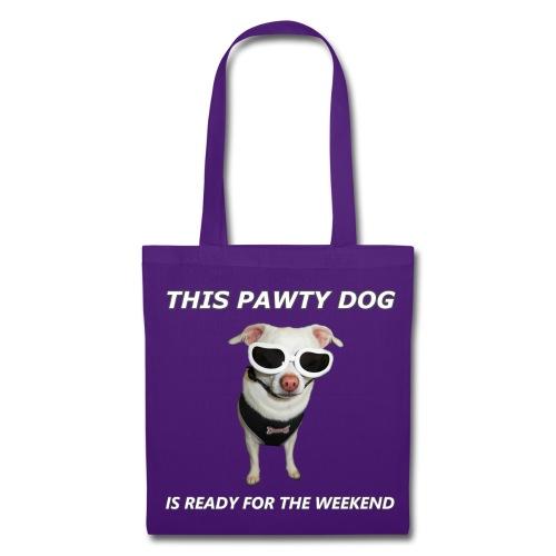 Pawty Dog Tote Bag - Tote Bag
