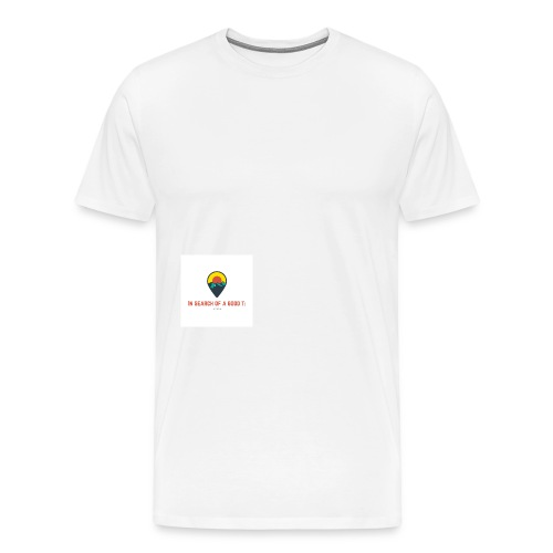 Searching for T: - Men's Premium T-Shirt