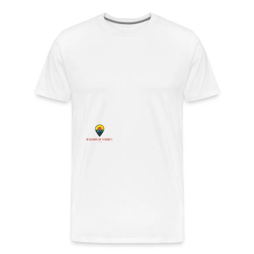 Searching for T: - Men's Premium T-Shirt