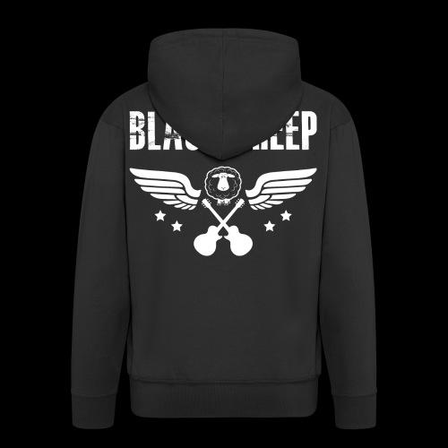Black Sheep Wings Kapuzenjacke Premium  - Männer Premium Kapuzenjacke