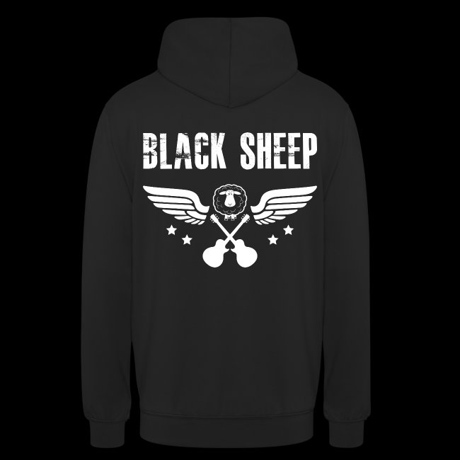 Black Sheep Wings Kapuzenpullover Unisex