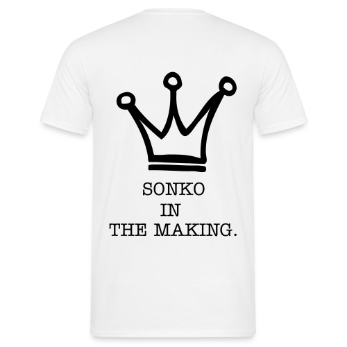 Men's T-Shirt - sonko, swahili slang for wealth and success. This is for those who havent yet made it but know they will....