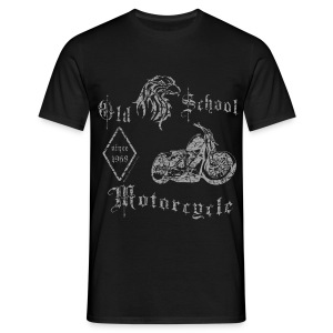 Old School Motorcycle | 1970 - Männer T-Shirt