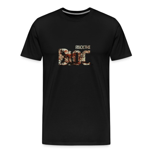 Rock The Bloc with men's T-shirt in all colours - Men's Premium T-Shirt
