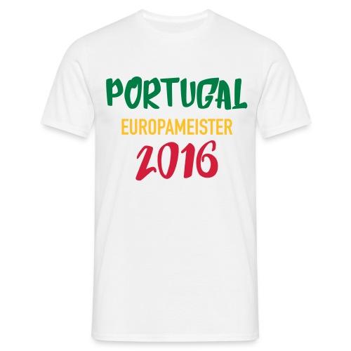 Portugal Europameister 2016 - Männer T-Shirt