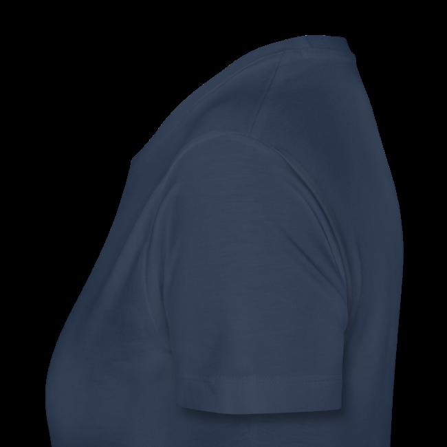 """Frauen Premium T-Shirt """"Ich geh' auf Schalke"""" - navi"""