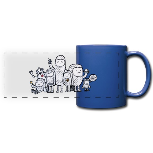 RLS Family Berlin by Timrobot - Mug panoramique uni