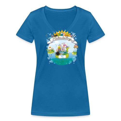 die Klabauterlinge - Frauen Bio-T-Shirt mit V-Ausschnitt von Stanley & Stella