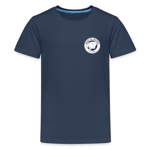 Brand only / front Teenager T-Shirt | Black / White | Digital Direktdruck - Teenager Premium T-Shirt