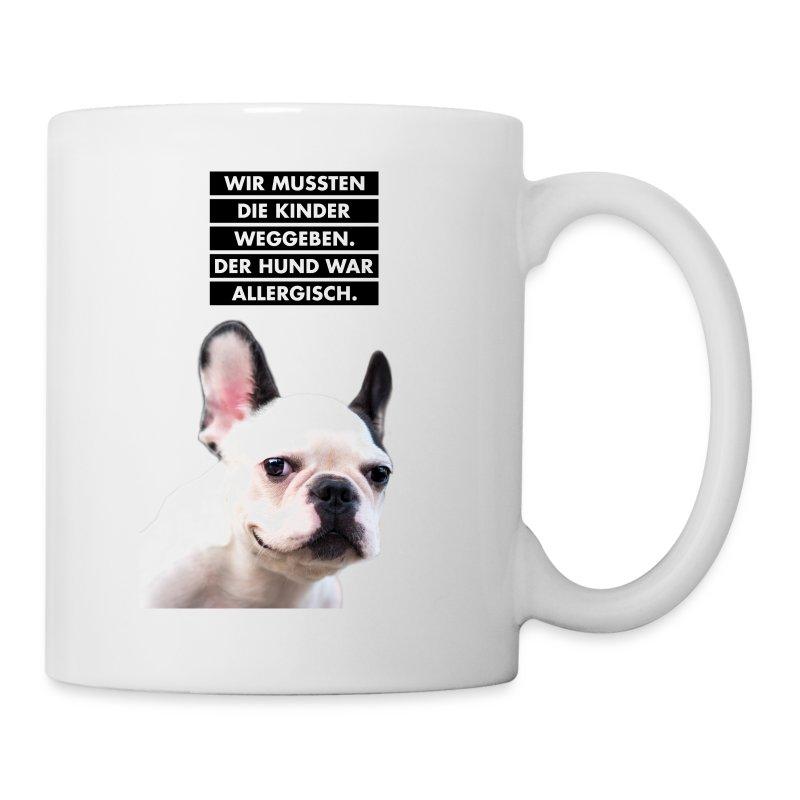 Tassen Hund : Kinder weggeben hund allergisch tasse spreadshirt