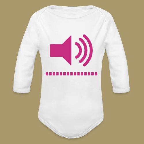 Baby Langarm-Body VOLUME - Baby Bio-Langarm-Body
