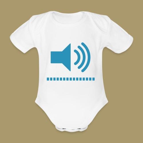 Baby Kurzarm-Body VOLUME - Baby Bio-Kurzarm-Body