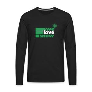 Welovesnow 3Way Premium Longsleeve - Männer Premium Langarmshirt
