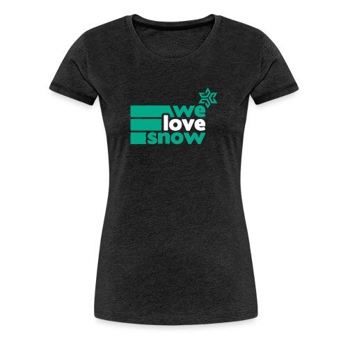 Welovesnow 3Way Premium Tee - Frauen Premium T-Shirt