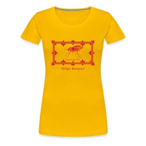 Women's Midgie Rampant Tee - Women's Premium T-Shirt